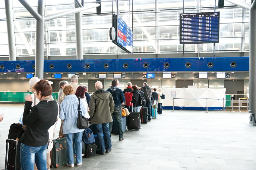 Last-Minute-Flughafen