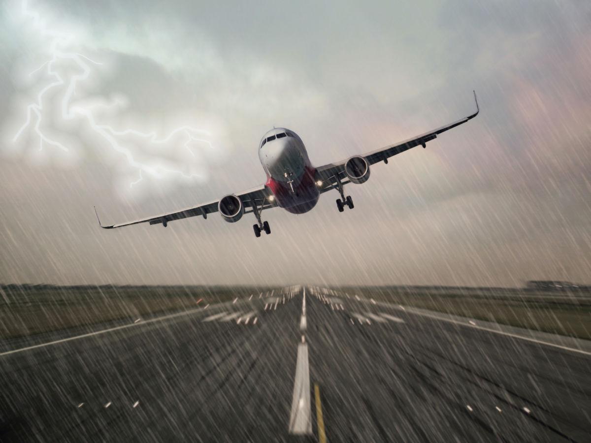 Flugzeuge Landen