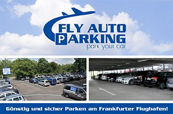 logo von fly auto parking. Black Bedroom Furniture Sets. Home Design Ideas