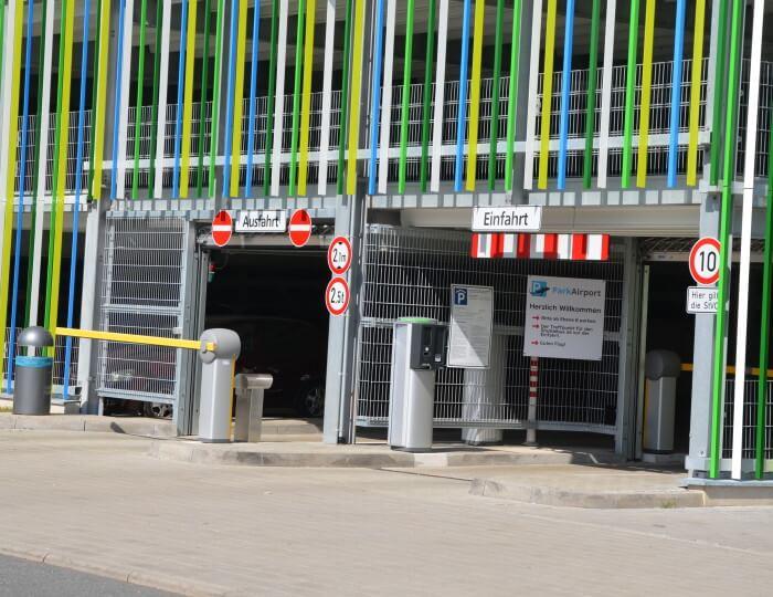 Frankfurt Flughafen Parkhaus