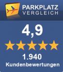 Parkplätze am Flughafen Leipzig-Halle